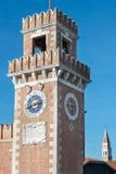 Arsenale της Βενετίας - της Ιταλίας Στοκ Φωτογραφίες