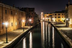 Arsenale di Venezia in Italia Immagini Stock