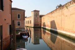 Arsenale en Venecia Imagen de archivo
