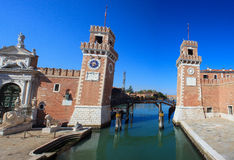 Arsenale, Venice Royalty Free Stock Photography