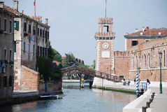 The Arsenale, Venice Stock Photo