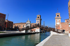 The Arsenale of Venice Stock Photography