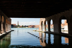 Arsenale in Venice Stock Images