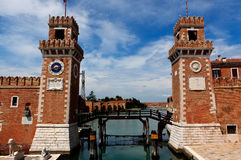 Arsenale, Wenecja, Włochy Obrazy Stock