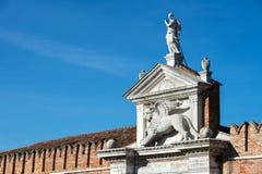 Arsenale Wenecja, Włochy - Zdjęcia Royalty Free