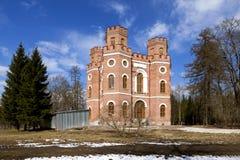 Arsenalpaviljong Tsarskoye Selo St Petersburg Ryssland Fotografering för Bildbyråer