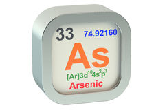 Arsenic stock illustration