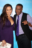 Arsenio Hall, Tia Carrere Royalty Free Stock Photos