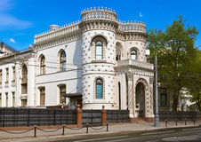 Arseny Morozov's mansion (receptions by Ministry of Foreign Affa. Irs) in Moscow Russia Stock Photos