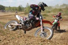 ARSENYEV, RÚSSIA - 30 DE AGOSTO: O cavaleiro participa dentro Fotos de Stock