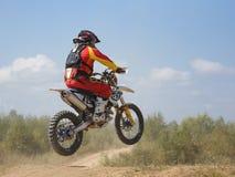 ARSENYEV, RUSSIA - AUG 30: Rider participates in Stock Image