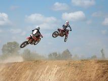ARSENYEV, RUSSIA - AUG 30: Rider participates in Stock Photos