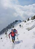 Arshan, Россия - 04 2015: Группа в составе люди skyrunning бежать с Стоковая Фотография RF