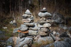 Arshan alle montagne di Sayan in Buriatya, Siberia - Russia Fotografie Stock Libere da Diritti