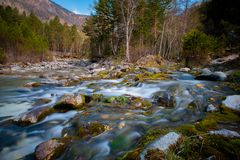 Arshan at the Sayan mountains in Buriatya, Siberia - Russia Stock Image