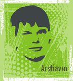 Arshavin Royalty Free Stock Images