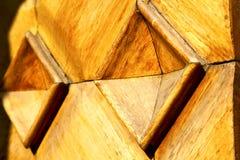 Arsizio αφηρημένη κλειστή ρ ξύλινη Ιταλία Λομβαρδία Busto Στοκ εικόνα με δικαίωμα ελεύθερης χρήσης