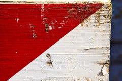 Arsizio αφηρημένη ξύλινη Ιταλία Busto και άσπρο κόκκινο λωρίδα Στοκ Εικόνες