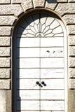 Arsizio ρ κλειστή εκκλησία ξύλινη Ιταλία Λομβαρδία Busto Στοκ Εικόνα