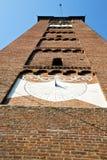 Arsizio старое и день колокола башни церков солнечный Стоковая Фотография RF