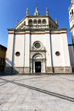 arsizio busto στο παλαιό κλειστό εκκλησία πεζοδρόμιο Ιταλία Στοκ εικόνα με δικαίωμα ελεύθερης χρήσης
