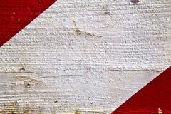 Arsizio extrahieren hölzernes Italien Lombardei und weißen roten Streifen Lizenzfreie Stockfotos
