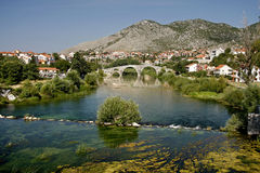 The Arslanagic Bridge, Trebinje, Bosnia Royalty Free Stock Photo