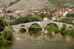 The Arslanagic Bridge, Trebinje, Bosnia Stock Photo
