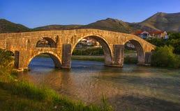 Arslanagica桥梁 库存照片