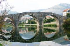 Arslanagich-Brücke, Trebinje Stockfoto