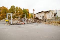 arson Foto de Stock Royalty Free