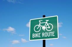 Artère de vélo Images libres de droits