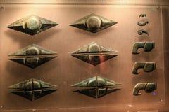 Artículo de bronce en el museo del sanxingdui, Sichuan, China fotografía de archivo libre de regalías