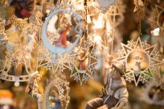 Artículos bávaros de la Navidad Foto de archivo