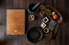 Artículos de la cocina reales Foto de archivo