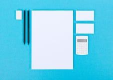 Artículos de la oficina para la presentación Fotografía de archivo