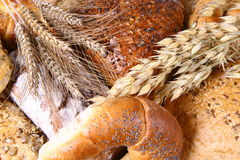 Artículos de panadería Fotografía de archivo