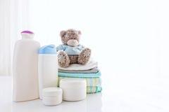 Artículos del bebé Imagen de archivo libre de regalías