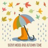 Artículos del otoño Imagen de archivo