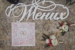 Artículos masculinos de la joyería, traje para la boda 9970 Imagen de archivo libre de regalías