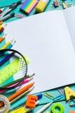 Artículos para la creatividad del ` s de los niños fotografía de archivo