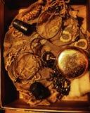 Artículos vintages imagen de archivo