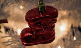 Artículos y accesorios de la Navidad Imagen de archivo libre de regalías