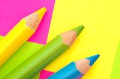 Art. Pencils Royalty Free Stock Photography