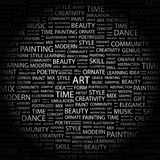 ART Photographie stock