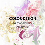 Art abstract background watercolor paint  texture design poster illustration  Royalty Free Stock Photography