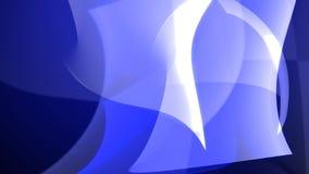 Art Abstract Blue modella il contesto illustrazione vettoriale
