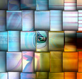 Art abstract bright background Stock Photography