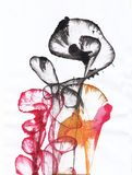 Art Abstract Flowers royalty illustrazione gratis