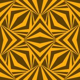 Art abstract geometric african yellow brown pattern. Vector illustration vector illustration